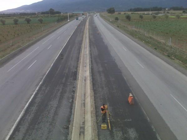 Prestation Topographiques autoroute Est-Ouest